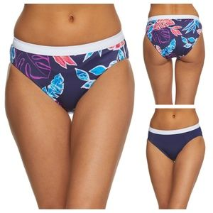 Tommy Bahama Reversible High Waist Bikini Bottoms